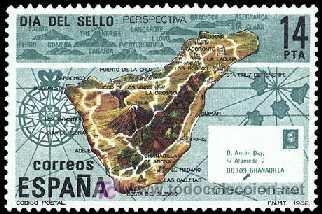 ESPAÑA 1982 2668 DÍA DEL SELLO (Sellos - España - Juan Carlos I - Desde 1.975 a 1.985 - Nuevos)