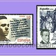 Sellos: ESPAÑA 1995 3356/7 LITERATURA. Lote 8767764