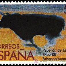 Sellos: ESPAÑA EDIFIL 2953 AÑO 1988. EXPOSIC. MUNDIAL 1988. BRISBANE (AUSTRALIA). Lote 9079890