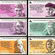 Sellos: ESPAÑA EDIFIL 2860. AÑO 1986. V CENTENARIO DESCUBRIMIENTO DE AMERICA.. Lote 9094210
