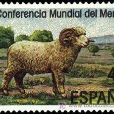 Sellos: ESPAÑA EDIFIL 2839 AÑO 1986. II CONFERENCIA MUNDIAL DEL MERINO.. Lote 9094704