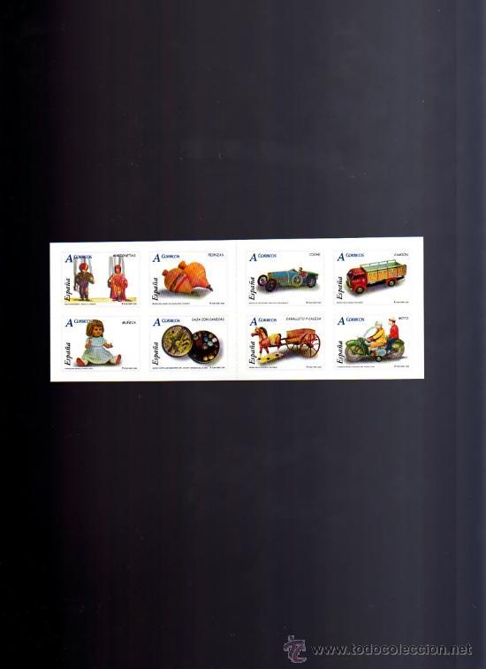 AÑO 2006.-CARNÉ JUGUETES. EDIFIL 4199, 4200, 4201, 4202, 4203, 4204, 4205, 4206. (Sellos - España - Juan Carlos I - Desde 2.000 - Nuevos)