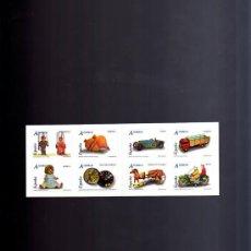 Sellos: AÑO 2006.-CARNÉ JUGUETES. EDIFIL 4199, 4200, 4201, 4202, 4203, 4204, 4205, 4206.. Lote 9398162