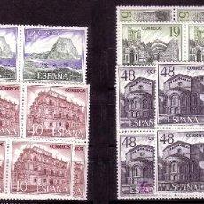 Sellos: BLOQUE DE CUATRO SERIE TURISTICA AÑO 1987-Nº 2900/2903. Lote 26803446
