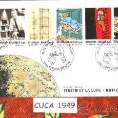 Sellos: BELGICA 2004-75 ANIVERSARIO DE TINTIN - SOBRE ORIGINAL - !!!! NOVEDAD !!!. Lote 56289907