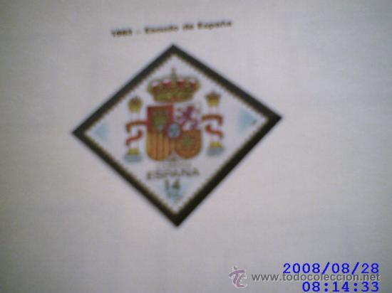SELLOS DE ESPAÑA. AÑO 1983 MONTADOS EN HOJAS EDIFIL CON FILOESTUCHE (Sellos - España - Juan Carlos I - Desde 1.975 a 1.985 - Usados)