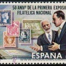 Sellos: ESPAÑA 1980 EDIFIL 2576 SELLO ** 50 ANIVERSARIO PRIMERA EXPOSICION FILATÉLICA NACIONAL ALFONSO XIII. Lote 52817719