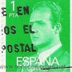 Sellos: 1 SELLO USADO---ESPAÑA---1º BASICA REY . Lote 10648199