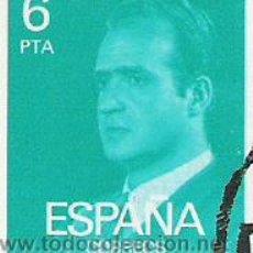 Sellos: 1 SELLO USADO---ESPAÑA---1º BASICA REY . Lote 10648226