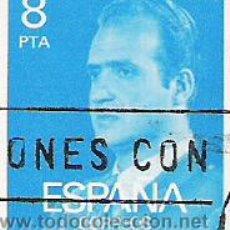 Sellos: 1 SELLO USADO---ESPAÑA---1º BASICA REY . Lote 10648246