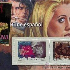 Sellos: REPRODUCCIONES AUTORIZADAS POR CORREOS DE LOS 2 SELLOS - CINE ESPAÑOL - Nº62 J. Lote 120471675