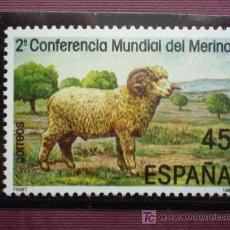 Sellos: ESPAÑA 1986 EDIFIL 2839 - 2ª CONFERENCIA MUNDIAL DEL MERINO. Lote 11671972