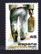 EDIFIL 2846. 1986,.22 ABRIL. SERIE: LA EMIGRACIÓN. (Sellos - España - Juan Carlos I - Desde 1.986 a 1.999 - Nuevos)
