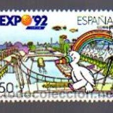 Sellos: EDIFIL 3053. 1990.-EXPOSICIÓN UNIVERSAL DE SEVILLA. EXPO 92.. Lote 11850083
