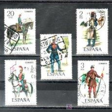 Sellos: ESPAÑA 2381/5 USADA, UNIFORMES MILITARES, . Lote 14328866