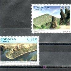 Sellos: ESPAÑA 4397/8 SIN CHARNELA, PARQUE NATURAL DE LAS HOCES DEL RIO DURATON SEGOVIA, MONTES DE TOLEDO. Lote 16027583