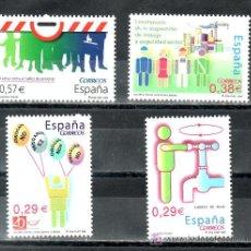 Sellos: ESPAÑA 4225/8 SIN CHARNELA, VALORES CIVICOS, AHORRO AGUA, LUCHA CONTRA DROGA, INSPECCION TRABAJO,. Lote 14411868