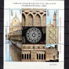 Sellos: ESPAÑA 3936/41 O MINIPLIEGO 80 SIN CHARNELA, PATRIMONIO MUNDIAL, PAISAJES CULTURAL DE ARANJUEZ Y ART. Lote 15361572