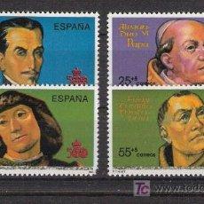 Sellos: 1991 - V CENTENARIO DESCUBRIMIENTO DE AMERICA - COMPLETA - EDIFIL 3137 / 3140 ***. Lote 19052399