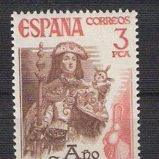 Sellos: ESPAÑA 1976 - AÑO SANTO COMPOSTELANO - COMPLETA - EDIFIL 2306 ***. Lote 15105923