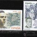 LITERATURA ESPAÑOLA. PERSONAJES DE FICCION. SERIE Nº 3356/7. Lote 16072330