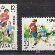Sellos: ESPAÑA 1981 - COPA MUNDIAL DE FUTBOL ESPAÑA '82 - EDIFIL 2613 / 14 ***. Lote 19042953