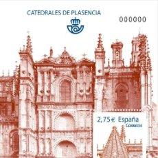 Timbres: ESPAÑA 2010 - CATEDRAL DE PLASENCIA - HOJITA BLOQUE - EDIFIL Nº 4552. Lote 170491522