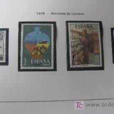 Sellos: 1976 SERVICIOS DE CORREOS. EDIFIL 2329/32. Lote 18234870