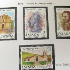 Sellos: 1976 HISPANIDAD. COSTA RICA. EDIFIL 2371/4. Lote 18236254