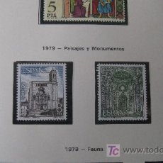 Sellos: 1979 PAISAJES Y MONUMENTOS. EDIFIL 2527/30. Lote 18317772