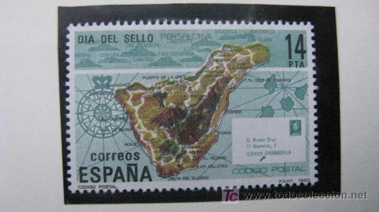 1982 DIA DEL SELLO. EDIFIL 2668 (Sellos - España - Juan Carlos I - Desde 1.975 a 1.985 - Nuevos)