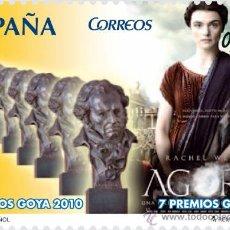 Sellos: ESPAÑA 2010 - CINE ESPAÑOL - AGORA - EDIFIL Nº 4554. Lote 187310157