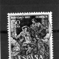 Sellos: ESPAÑA AÑO 1967 YVERT NR.1497 SELLO USADO NAVIDAD. Lote 19003166