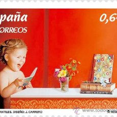 Sellos: ESPAÑA 2010 - EUROPA - LIBROS INFANTILES - EDIFIL Nº 4564. Lote 187310135