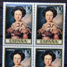 Sellos: ESPAÑA EDIFIL 2152 BLOQUE DE 4 VICENTE LÓPEZ SELLOS NUEVOS MNH ES-21. Lote 19456770
