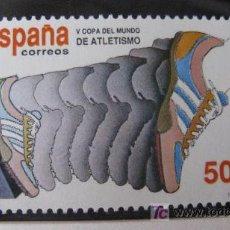 Sellos: 1989 V COPA DEL MUNDO DE ATLETISMO. EDIFIL 3023. Lote 19791893