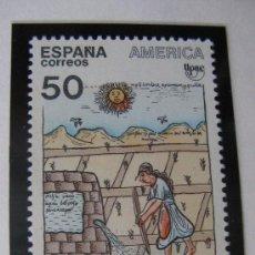 Sellos: 1989 AMERICA-UPAE. PUEBLOS PRECOLOMBINOS. EDIFIL 3035. Lote 19792166