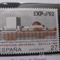 Sellos: 1992 EXPOSICION UNIVERSAL SEVILLA 92. EDIFIL 3155. Lote 19983409