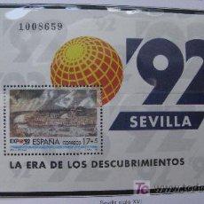 Sellos: 1992 EXPOSICION UNIVERSAL DE SEVILLA, EXPO92. EDIFIL 3191. Lote 19983588