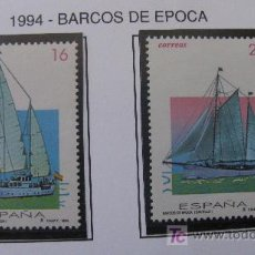 Sellos: 1994 BARCOS DE EPOCA. EDIFIL 3314/5. Lote 20112411