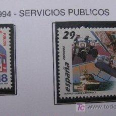 Sellos: 1994 SERVICIOS PUBLICOS. EDIFIL 3322/3. Lote 20758743