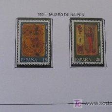 Sellos: 1994 MUSEO DE NAIPES. EDIFIL 3317/20. Lote 20758771
