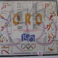 Sellos: 1994 DEPORTES. OLIMPICOS DE ORO. EDIFIL 3325/34. Lote 27419148