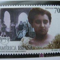 Sellos: 1998 AMERICA UPAEP. MARIA GUERRERO. EDIFIL 3590. Lote 20560590