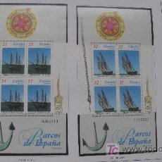 Sellos: 1997 BARCOS DE EPOCA. EDIFIL 3477/78. Lote 20763969