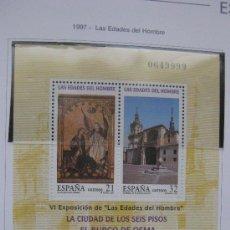 Sellos: 1997 LAS EDADES DEL HOMBRE. EDIFIL 3494. Lote 20764464