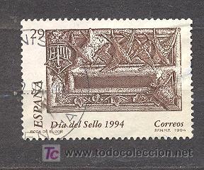 1994,DIA DEL SELLO, EDIFIL 3287 (Sellos - España - Juan Carlos I - Desde 1.986 a 1.999 - Usados)