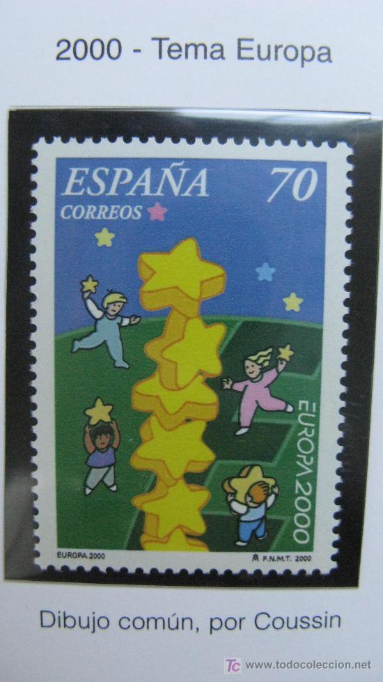 2000 EUROPA 2000. EDIFIL 3707 (Sellos - España - Juan Carlos I - Desde 2.000 - Nuevos)
