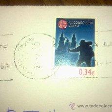 Sellos: SELLO XACOBEO 2010. 0,34€. NUEVO PEGADO SOBRE PAPEL. Lote 21159415