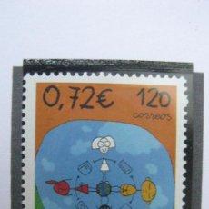 Sellos: 2001 DIA MUNDIAL DEL CORREO. EDIFIL 3820. Lote 21265546